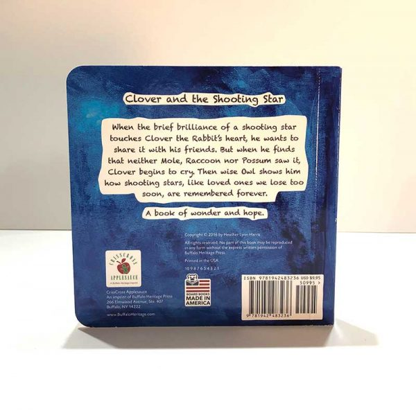 Clover and the Shooting Star book back