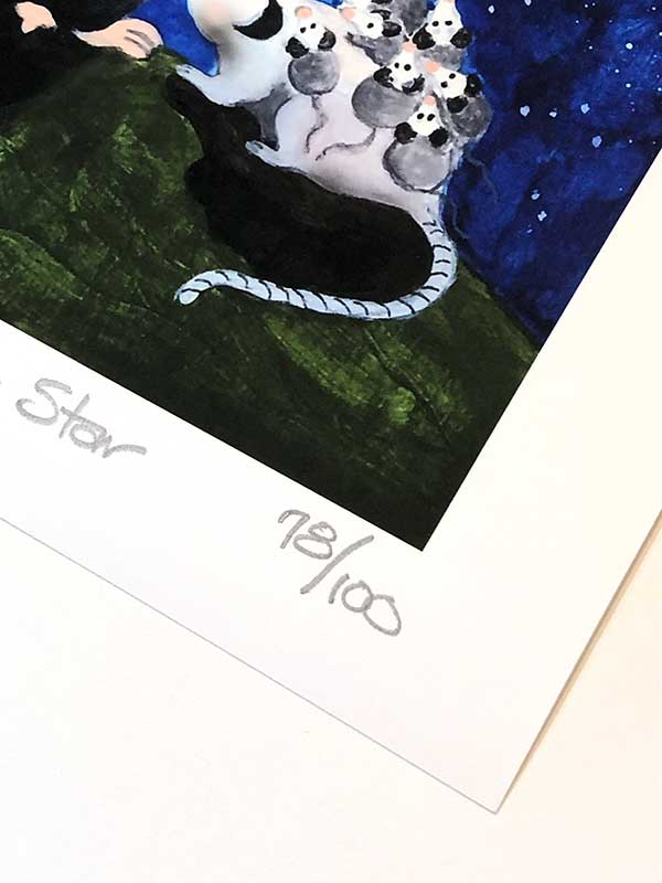 Clover print number