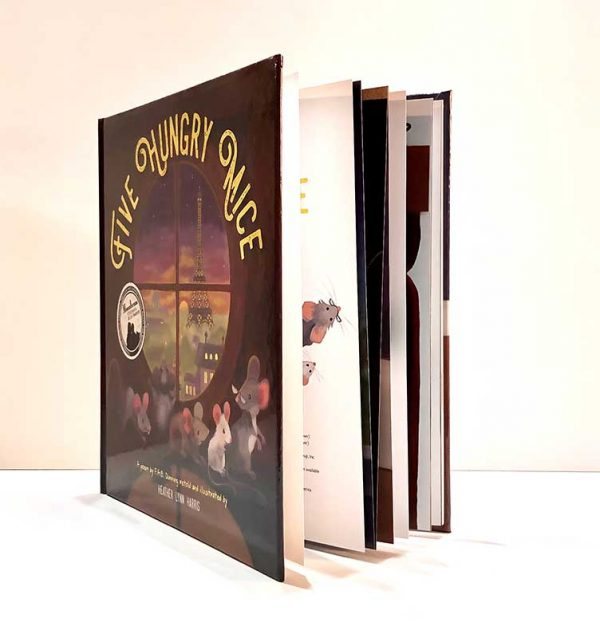 Five Hungry Mice book fan