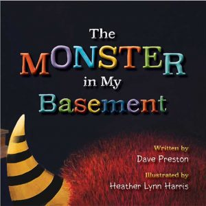 The monster in my Basement book front cover